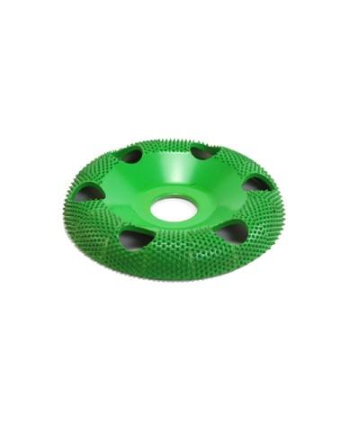 Raspelfrässcheibe rund mit Sichtlöchern 100 mm