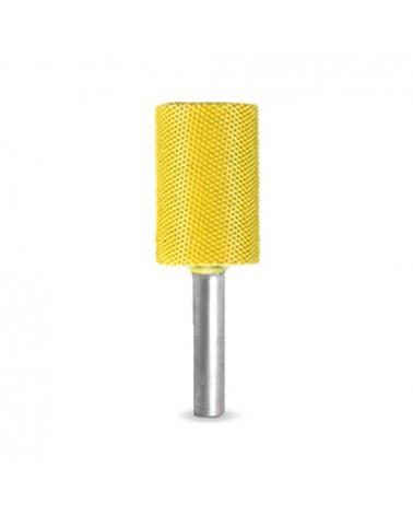 Raspfrees cilinder Ø 6 mm oranje 19 x 32 mm extra grof
