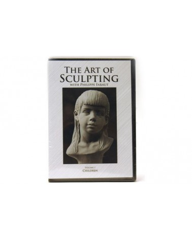 DVD-The art of sculpting vol.1: Children Philippe Faraut