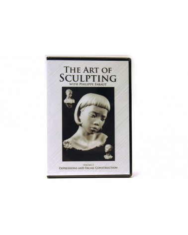 DVD-The art of sculpting  vol.2: Expressions Philippe Faraut