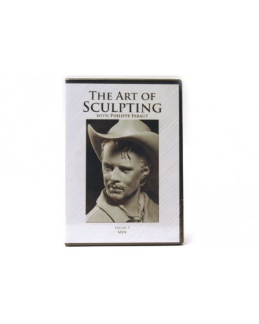 DVD-The art of sculpting  vol.3: Men Philippe Faraut