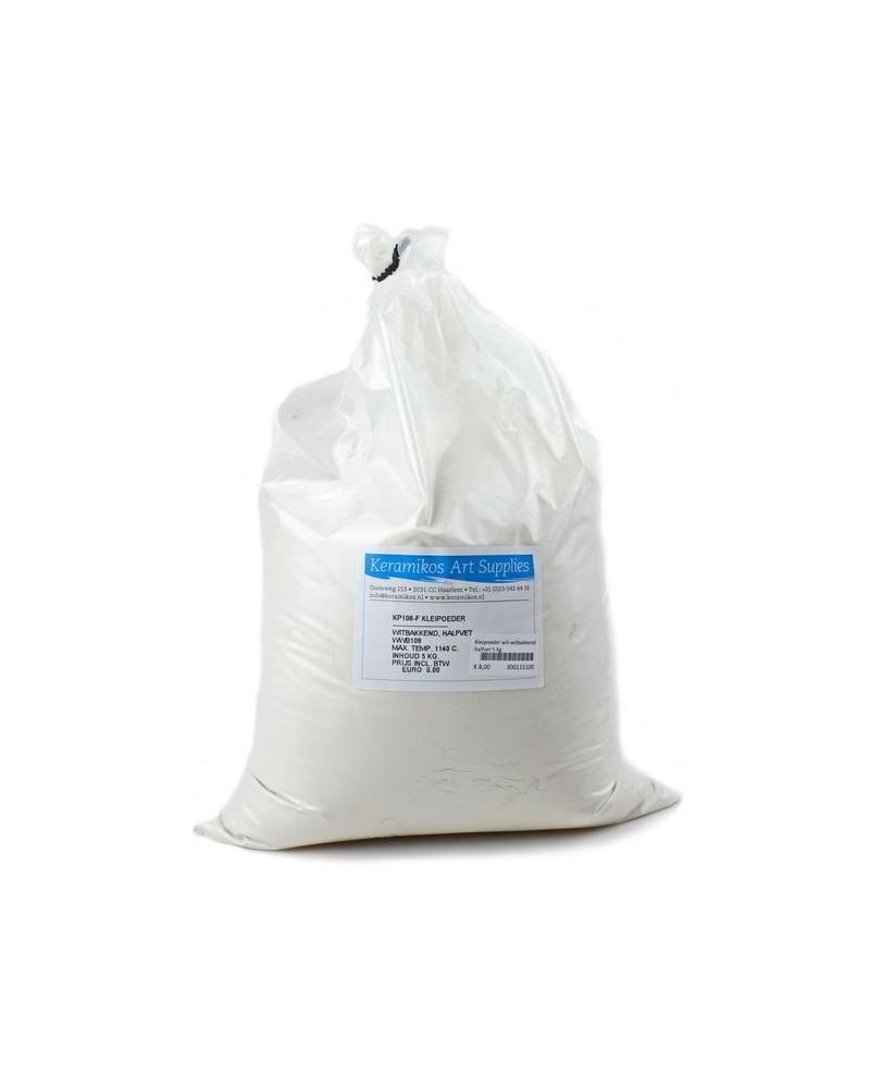 Kleipoeder wit. VET wwb111. KP105F. 5 kg