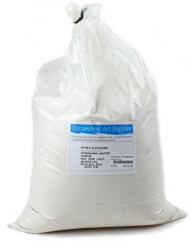 Kleipoeder wit-witbakkend halfvet 5 kg