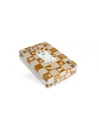 Kwastglazuur transparant met spikkels 9450