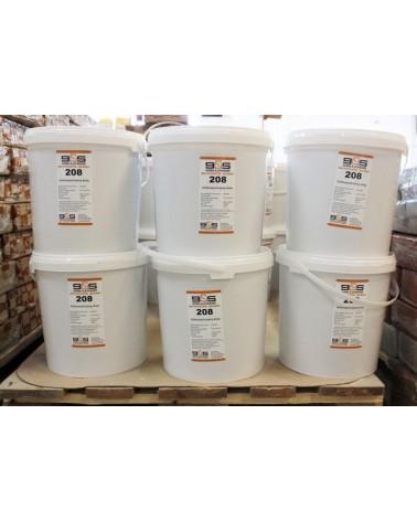 G&S gietklei 208 wit-crème  18 kg