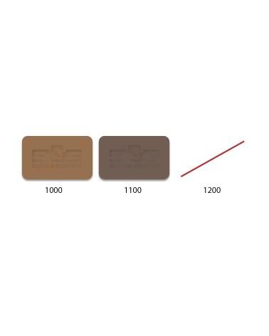 Klei 366, zwart-bruin, chamotte 25%  0,5 mm