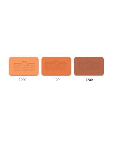 Klei 552, geel-rood, chamotte 40% 0,5 mm  10 kg