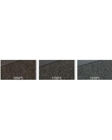 Zwarte steengoedklei 40%0,5mm 12,5kg. 1250C PRNF 10 kg