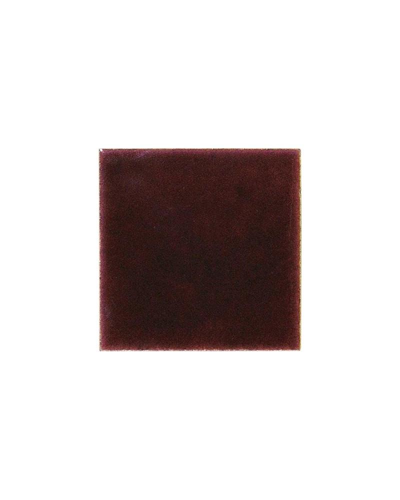Kwastglazuur donkerbruin halftrans. glanzend 9105