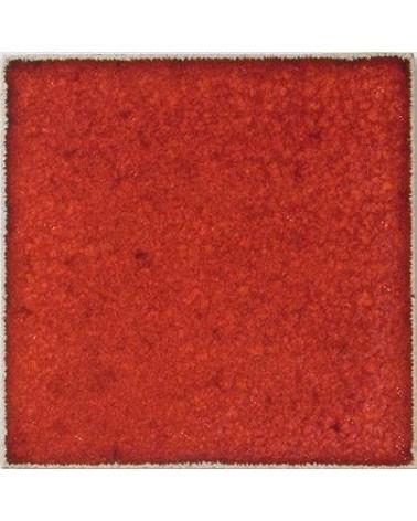 Kwastglazuur koraal rood glanzend 9607
