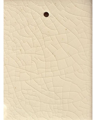Craquelé transparant glans glazuur aardewerk