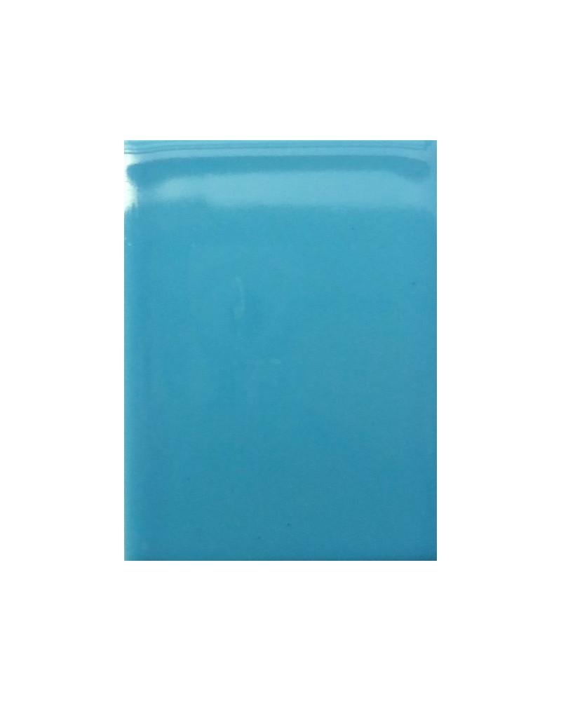 Turquoise blauw glans glazuur aardewerk