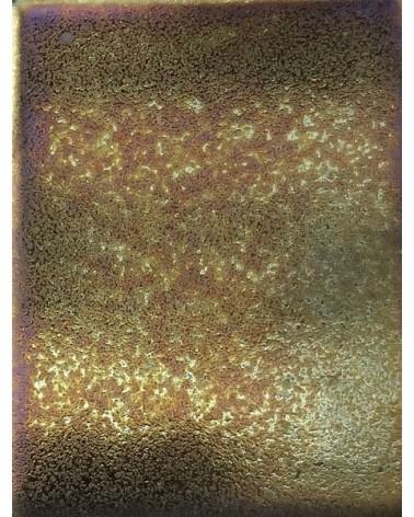 Olievlek halfglans glazuur aardewerk