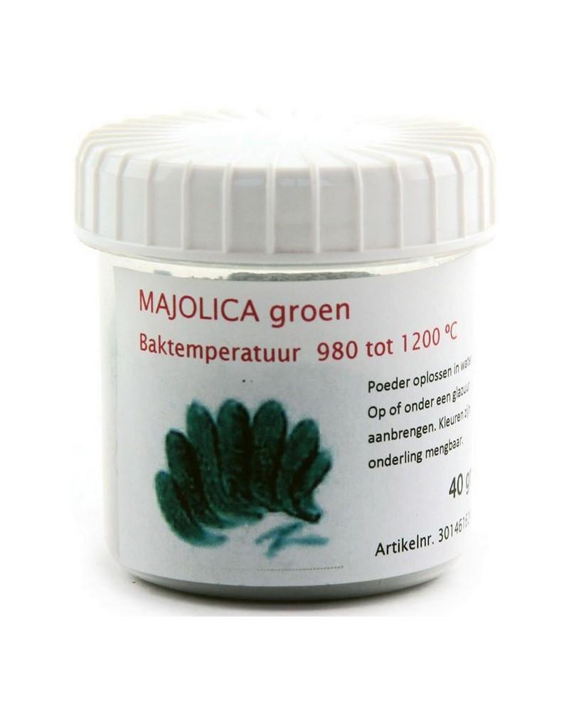 Majolica groen