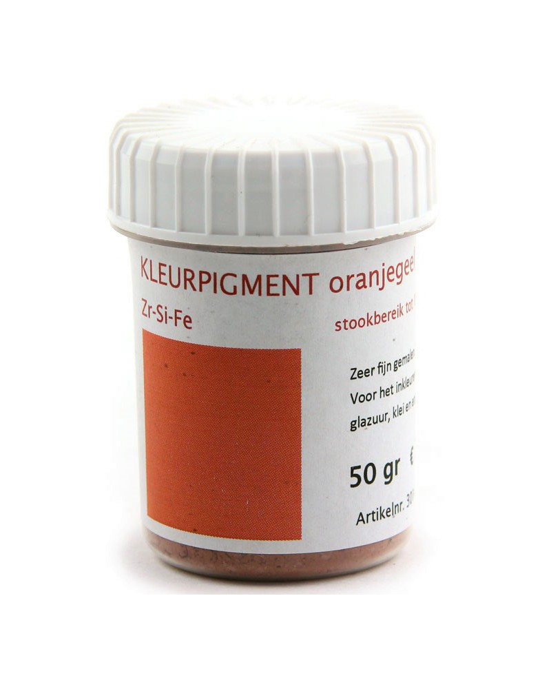 Kleurpigment oranjebruin
