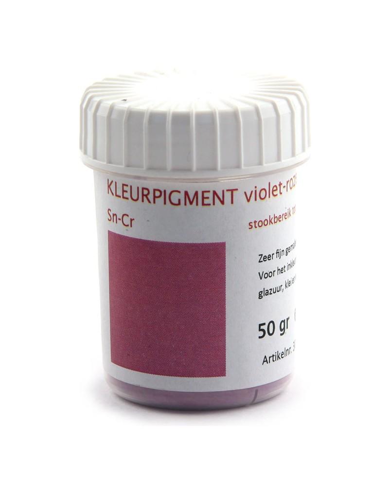 Kleurpigment violet-roze