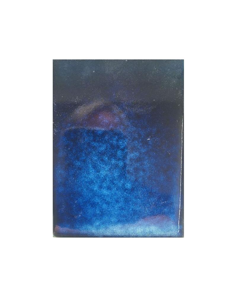 Blauwe wolk glans glazuur steengoed