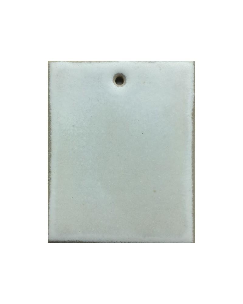 Witte krokus kristal-glazuur steengoed
