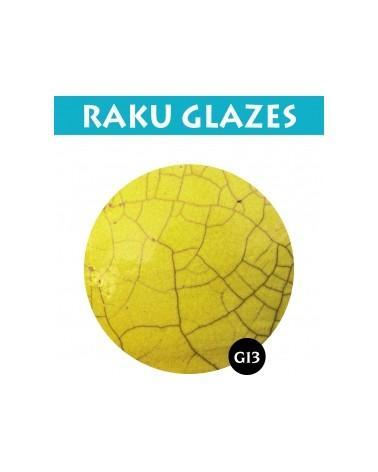 Fel Geel G13 0,5ltr raku glazuur