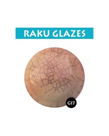 Zalm G17, 0,5 liter raku glazuur