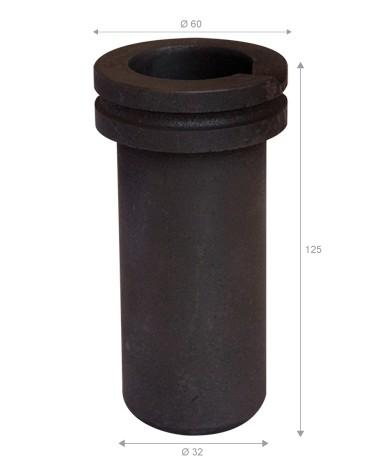 GRAFICARBO Graphit-Schmelztiegel EG65 1 kg