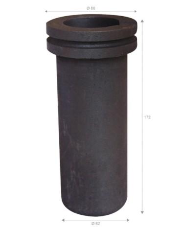 GRAFICARBO Graphit-Schmelztiegel EG78 3 kg