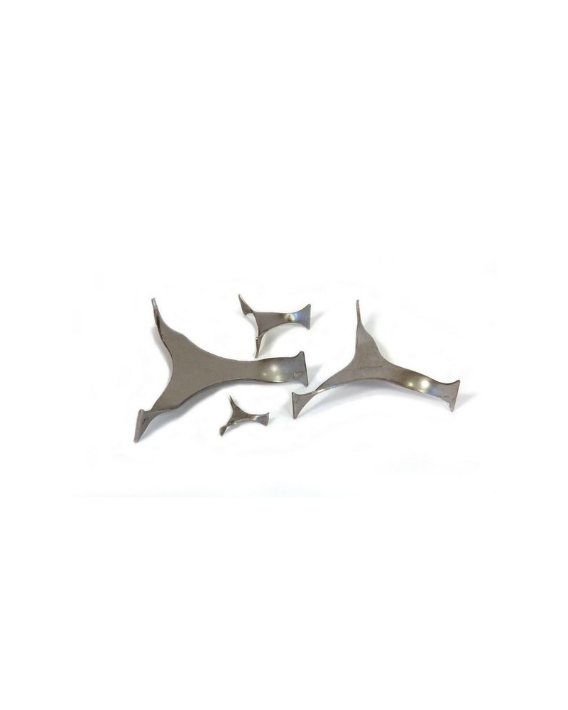 Metalen triangel