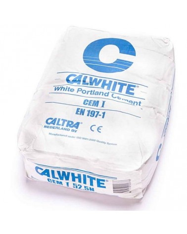 Wit cement Calwhite