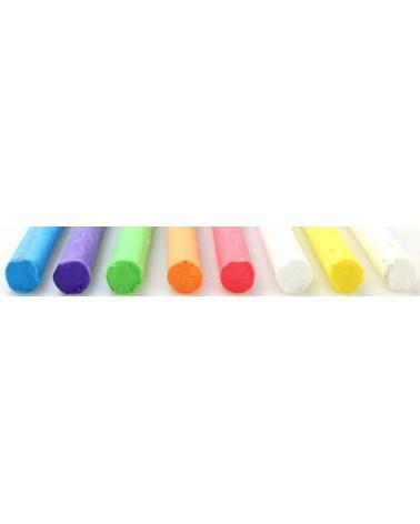 2_Lichte plastiline 8 kleuren 75 gram