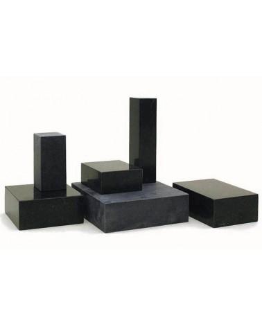 Sokkel zwart graniet / basalt