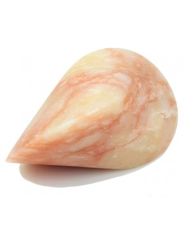Oloïde rode albast 17 cm
