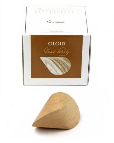 Oloïde hout 70 mm x 45 mm