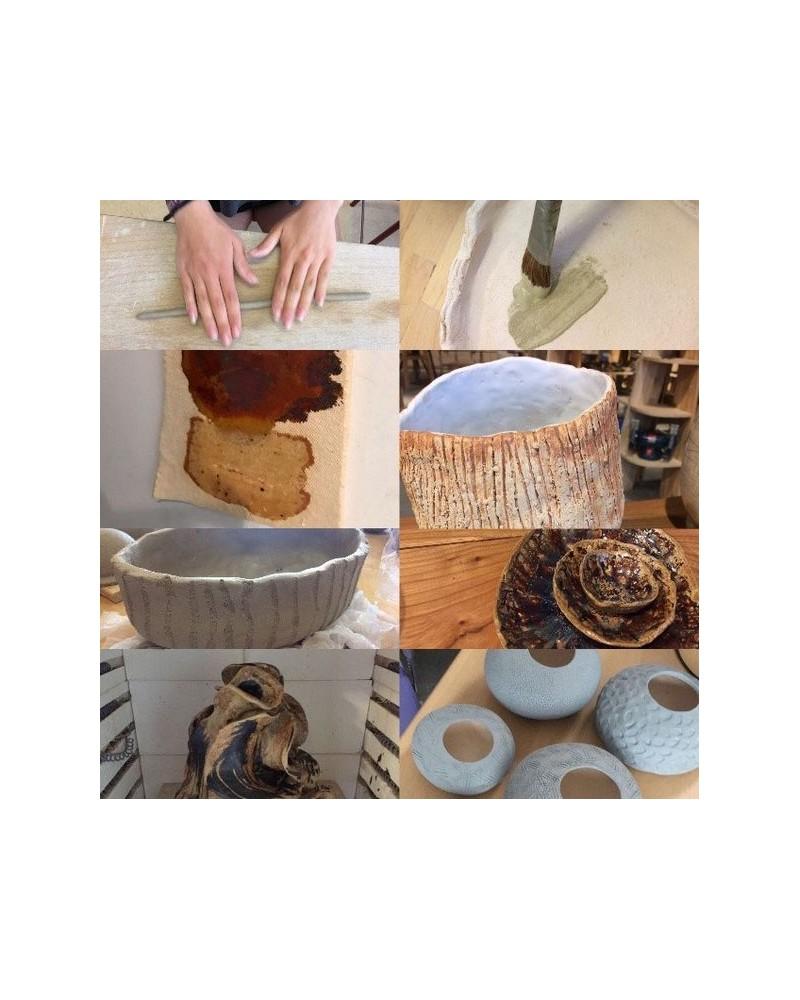 Handgevormd keramiek, beelden en objecten