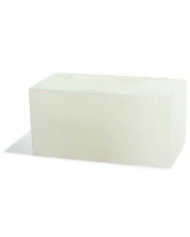 Blokje voor Oloide Albast transparant-wit