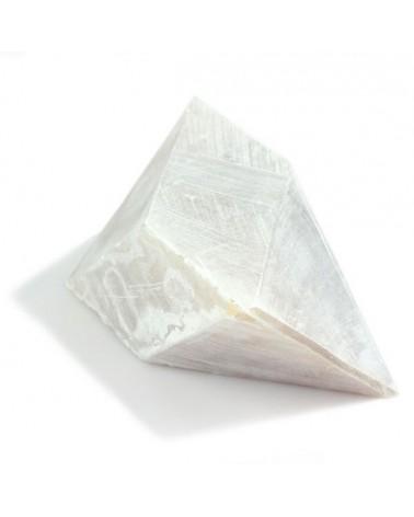 Blokje voor Oloide Albast karamel hoeken gezaagd
