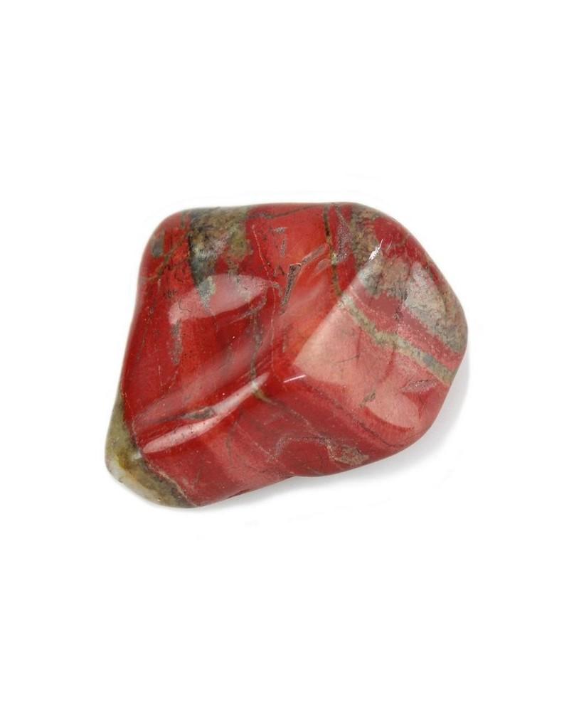 Jaspis rood ca. 5 cm gepolijst (stuk) - Zuid-Afrika