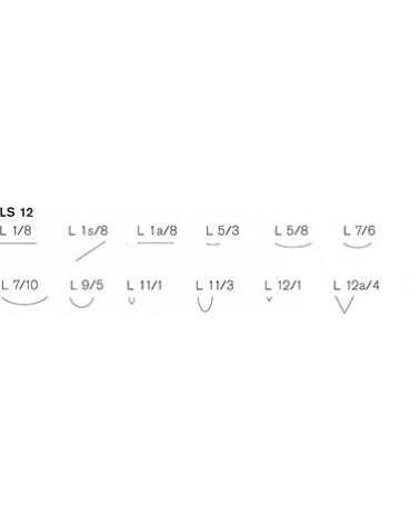 Linolschnittmesser Satz mit 12 Stück-2