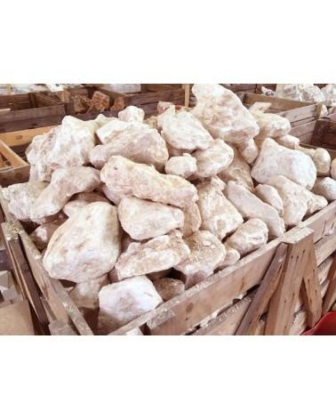 Braziliaanse speksteen ivoor/wit