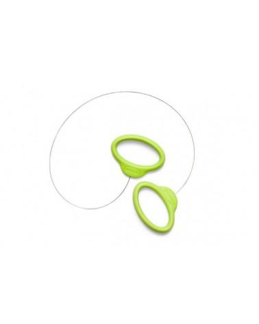 Kleisnijder -Groen handvat 38 cm