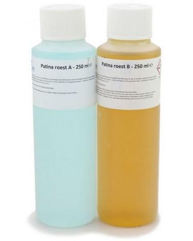 Patina Roest A en B voor ijzer 500 ml