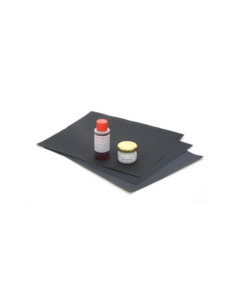 Afwerkingsset voor speksteen