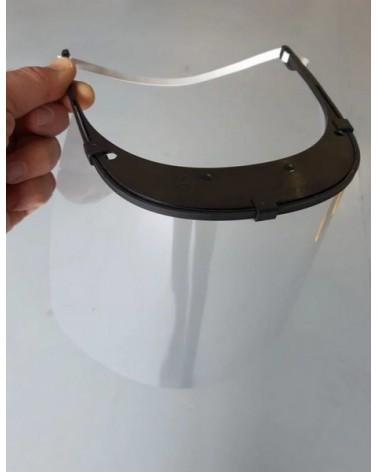 Gelaatscherm met elastische hoofdband 2 st