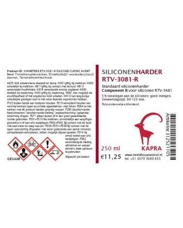 Standaardharder RTV-3081-R voor siliconenrubber DC 3481