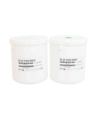 Siliconenrubber voor de huid  2 componenten 2 kg