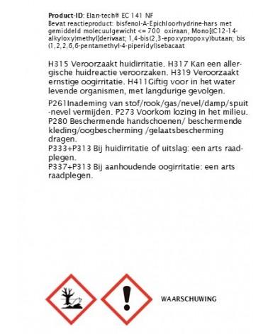 Heldere gietepoxy EC 141