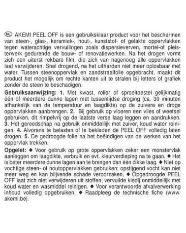 PEEL OFF - 1L
