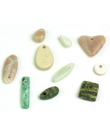 Speksteent amuletje (materiaal kan afwijken van foto)