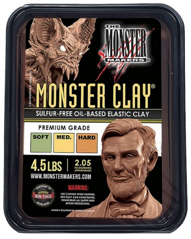 Monster Clay Modelliermasse