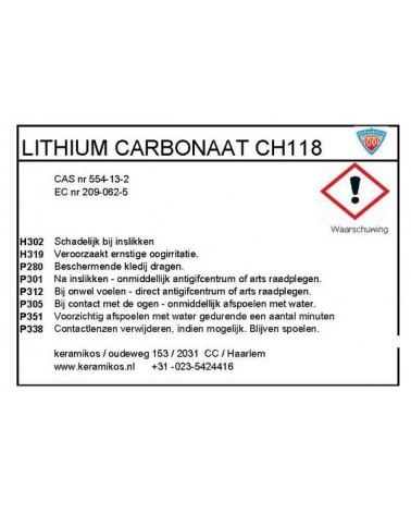 Lithiumcarbonaat