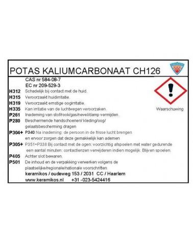 Kalium Carbonaat (Potas) 1 kilo